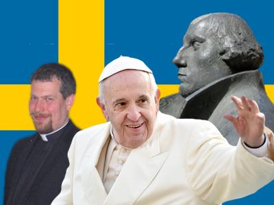 Der Papst in Schweden