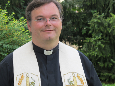 Schaustellerseelsorger Pfarrer Sascha Ellinghaus, Foto: KiP-NRW