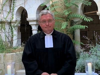 Pfarrer Joachim Lenz, der neue Propst der deutschen evangelischen Gemeinde in Jerusalem