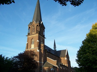 die Kirche Sankt Pankratius