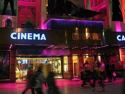 Kino bei Nacht