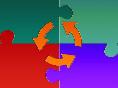 grafische Darstellung eines Tauschkreises