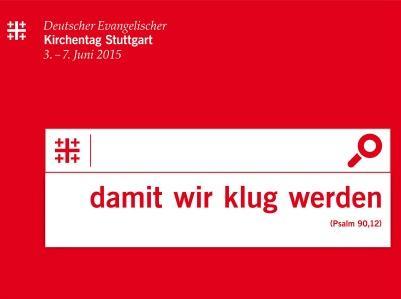 das Logo des 35. Deutschen Evangelischen Kirchentags 2015