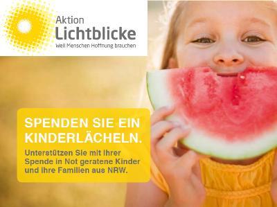 Spendenaufruf der Aktion Lichtblicke