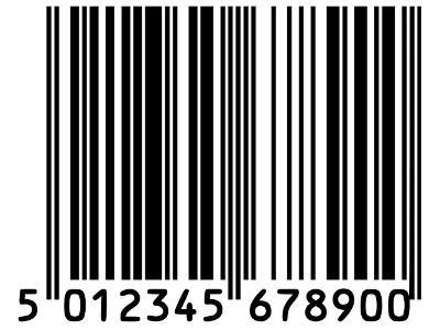 Beispiel für einen Barcode