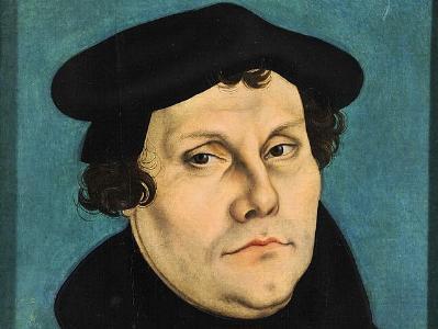 Portrait von Martin Luther 1529