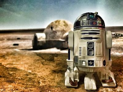 der Roboter R2D2 aus den 'Star Wars'-Filmen