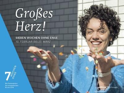 Werbeplakat der Fastenaktion '7 Wochen ohne'