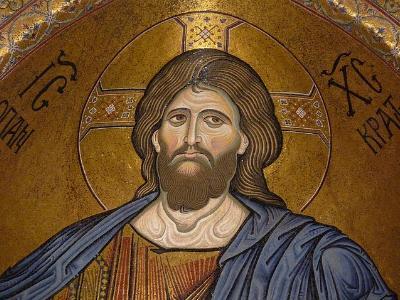 Ikonenbild aus der orthodoxen Kirche