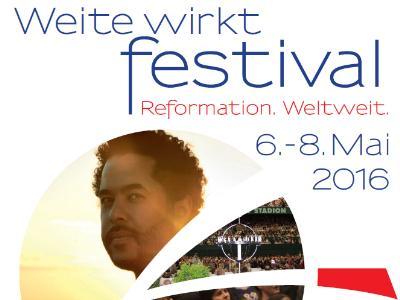 Plakatmotiv für das Festival 'Weite wirkt'