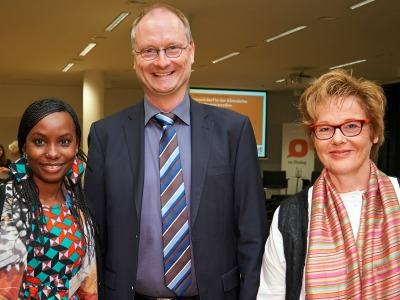 ARD-Wetterexperte Sven Plöger bei einer Veranstaltung von 'Brot für die Welt'