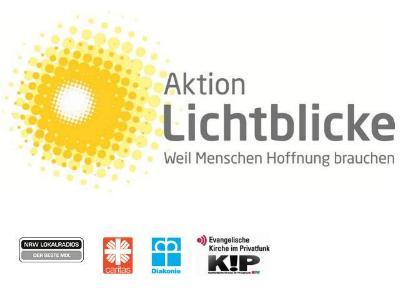 Logo der Spendenaktion Lichtblicke