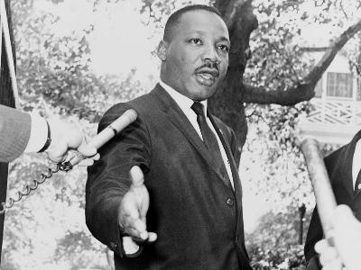 der Bürgerrechtler Martin Luther King