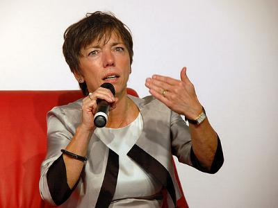 die evangelische Theologin Margot Käßmann