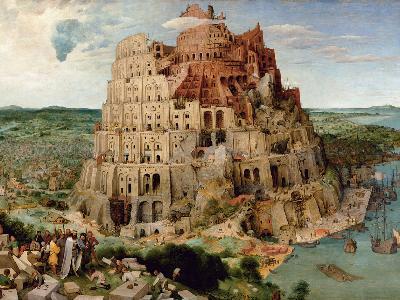 Der Turmbau zu Babel - Gemälde von Pieter Bruegel dem Älteren von 1563