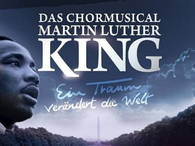 CD-Cover des Chormusicals über Martin Luther King