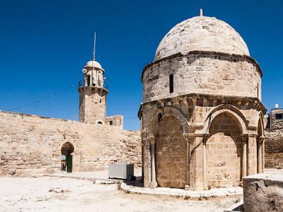 Die Himmelfahrtskapelle auf dem Ölberg in Jerusalem