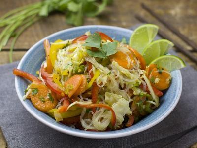 ein bunt gemischter Salat