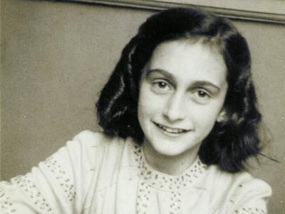 Foto des jüdischen Mädchens Anne Frank