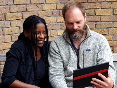 Das Musikerehepaar Judy Bailey und Patrick Depuhl